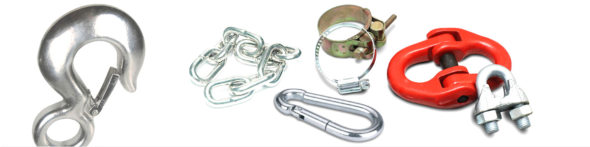Clamps, Hooks & Ropes
