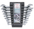 Double open-end wrench set.plastic case