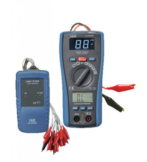 2 in 1 wire identifier with DMM.