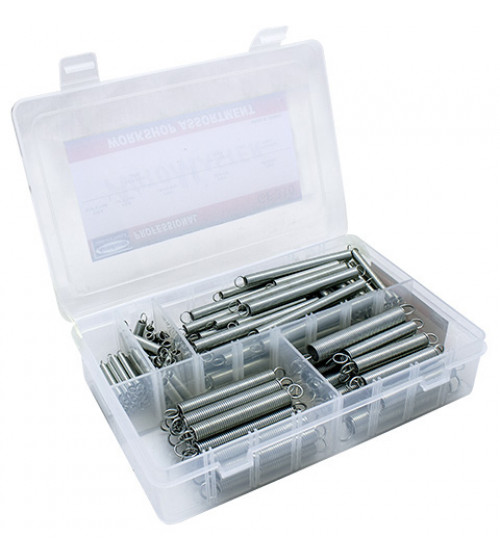125 PC EXPASION SPRING  - ZINC PLATED